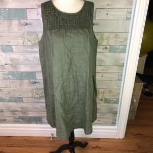 C&C California linen dress size L